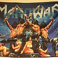 Manowar - Gods Of War Flag Other Collectable