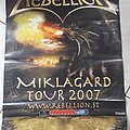 Rebellion Miklagard Tour 2007 Poster Other Collectable