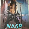 W.A.S.P Blackie Lawless Poster ( 90's )