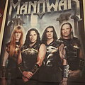Manowar Band Photo Flag Other Collectable