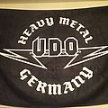U.D.O Heavy Metal Germany Flag Other Collectable