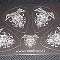 Rebellion Guitar Picks Other Collectable