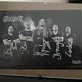 Obscurity Full Band Signed Card