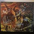 Manegarm - Tape / Vinyl / CD / Recording etc - Manegarm - Vredens Tid Full Band Signed CD