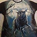 Sonata Arctica wolf overprint shirt