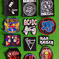 Various Classic Band Patches