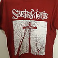 "Spiritus Mortis - ""Crusifixion in Finnish Early Winter Woods"" RED TS"