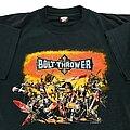 Bolt Thrower - TShirt or Longsleeve - Bolt Thrower Warmaster US Tour 1991 short sleeve (XL) Earache 1991