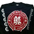 Merauder - TShirt or Longsleeve - Merauder Master Killer Euro tour long sleeve (XL) Screen Stars 1995