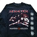 Merauder - TShirt or Longsleeve - Merauder Master Killer Euro Tour longsleeve (XL) black. Screen Stars 1995