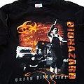 Biohazard - TShirt or Longsleeve - Biohazard Urban Discipline/Urban Chaos 94 short sleeve (XL) black. Printed on...