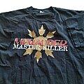 Merauder - TShirt or Longsleeve - Merauder Master Killer Promo short sleeve (XL) black. 1995