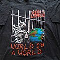 Vio-Lence - TShirt or Longsleeve - Vio-lence World in a World / Torture Tactics Banned World Tour 1990 short sleeve...