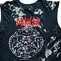 Deicide - TShirt or Longsleeve - Deicide Self Titled Cut Off (XL) black. Blue Grape 1990