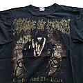 Cradle Of Filth - TShirt or Longsleeve - Cradle of Filth Cruelty And The Beast short sleeve (XL) black. Blue Grape 1998
