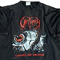 Obituary - TShirt or Longsleeve - Obituary Cause of Death short sleeve (XL) black. Blue Grape. 1990