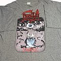 Death Symbolic short sleeve (XL) gray. Printed on Blue Grape. 1995
