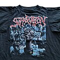 Suffocation - TShirt or Longsleeve - Suffocation Breeding The Spawn short sleeve (XL) black. Bluegrape 1992