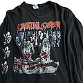 Cannibal Corpse - TShirt or Longsleeve - Cannibal Corpse U.S. Butchery Tour '92 long sleeve (XL) black. Murina 1992