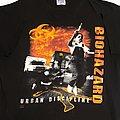 Biohazard Urban Discipline/Urban Chaos 94 short sleeve (XL) black. Printed on Hanes Ultraweight. 1994 TShirt or Longsleeve