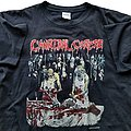 Cannibal Corpse - TShirt or Longsleeve - Cannibal Corpse Butchered at Birth short sleeve (XL) black. Pyramid 1992