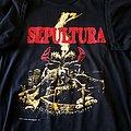 Sepultura - TShirt or Longsleeve - Sepultura Arise New Titans On The Block tour short sleeve (L) black. Printed on...