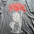 Immortal - TShirt or Longsleeve - Immortal Diabolical Fullmoon Mysticism short sleeve (XL) faded to gray. Osmose...