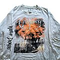 Obituary - TShirt or Longsleeve - Obituary World Demise long sleeve (XL) grey. Blue Grape 1994