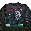 Hate Squad - TShirt or Longsleeve - Hate Squad Theater Of Hate tour long sleeve (XL) 1994
