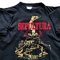 Sepultura - TShirt or Longsleeve - Sepultura Arise New Titans On The Block tour short sleeve (L) black. Blue Grape...