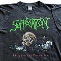 Suffocation - TShirt or Longsleeve - Suffocation Effigy of the Forgotten short sleeve (XL) Blue Grape 1992