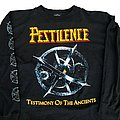 Pestilence - TShirt or Longsleeve - Pestilence Presence of the Pest Tour '92 longsleeve (L) black. Blue Grape 1991