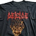 Deicide - TShirt or Longsleeve - Deicide Behind The Light short sleeve (L) black. Blue Grape 1995