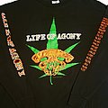 Life of Agony Weeds long sleeve (XL) black. Printed on Blue Grape. 1997
