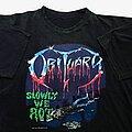 Obituary - TShirt or Longsleeve - Obituary Slowly We Rot (XL) Blue Grape Merchandising 1990