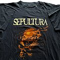 Sepultura - TShirt or Longsleeve - Sepultura Beneath The Remains short sleeve (L) black. Blue Grape 1990