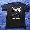 "Mayhem ""De Mysteriis Dom Sathanas"" size M TShirt or Longsleeve"