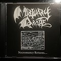"Mortuary Drape ""Necromancy Returns..."" CD"