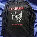 "Blasphemy ""Fallen Angel of Doom...."" LS size L"