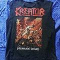 "Kreator ""Pleasure to Kill"" size L TShirt or Longsleeve"