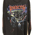 "Benediction - TShirt or Longsleeve - Benediction ""World Violation Tour 93"", LS, L/XL"