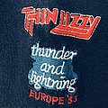 Thin Lizzy - Hooded Top - THIN LIZZY 1983 Thunder and Lightning Europe Tour