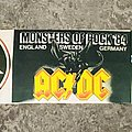 Monsters of Rock 1984 Tour Scarf Other Collectable