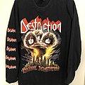 "Destruction - TShirt or Longsleeve - Destruction ""Eternal Devastation"", LS, XL"