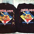 TShirt or Longsleeve - Cannibal Corpse - Hammer smashed Face European tour 1993 Original.