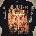 Immolation - Close to a world below, European tour 2001 TShirt or Longsleeve