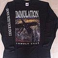 Immolation - Unholy Cult/Bring them down European tour TShirt or Longsleeve