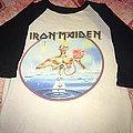 Iron Maiden - Seventh son Euro tour 1988 Baseball TShirt or Longsleeve