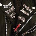 Metal Pins Battle Jacket