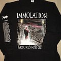 Immolation - Failure for Gods US tour 2000 TShirt or Longsleeve
